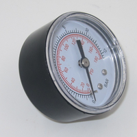 high precision digital pressure gauge with center back connection