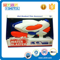 Custom summer funny plastic toy colorful water gun for kids