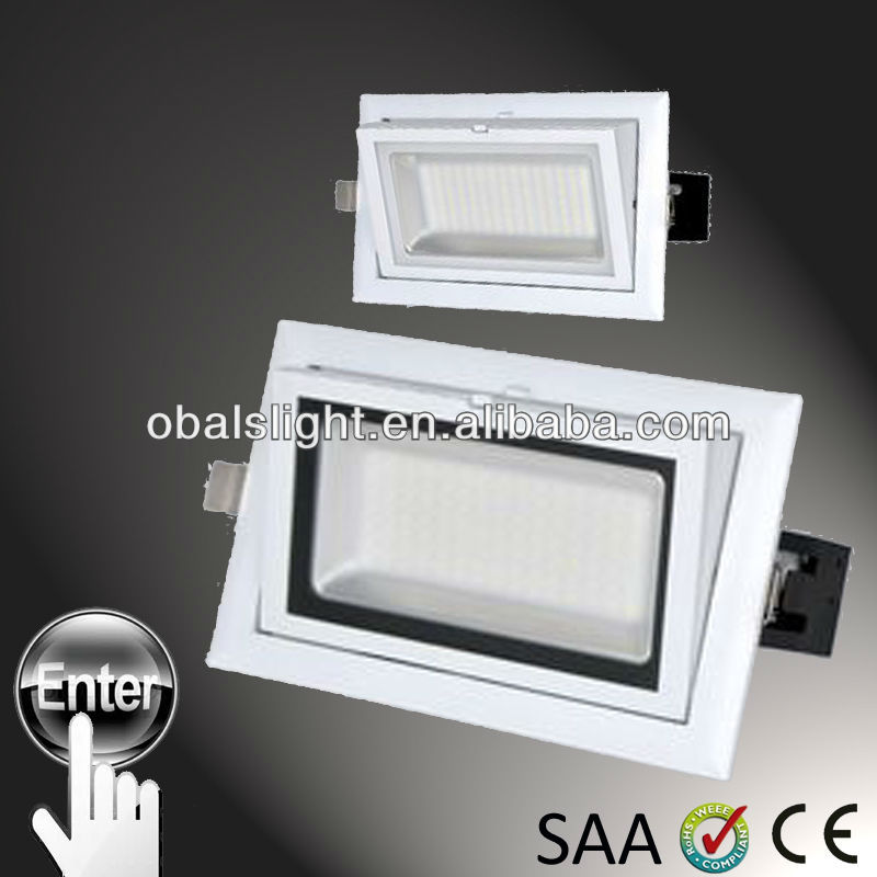 cross ventilated radiator design, 38w high bright Led ceiling light from obals lighting &CE/ROHS