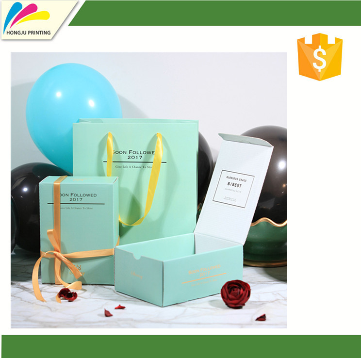 customized colourful paper packaging box