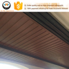 Sichuan Eco-Environmental Friendly Wood Plastic Composite WPC Indoor Ceiling Panel