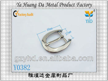 High quality metel alloy men pin belt buckles