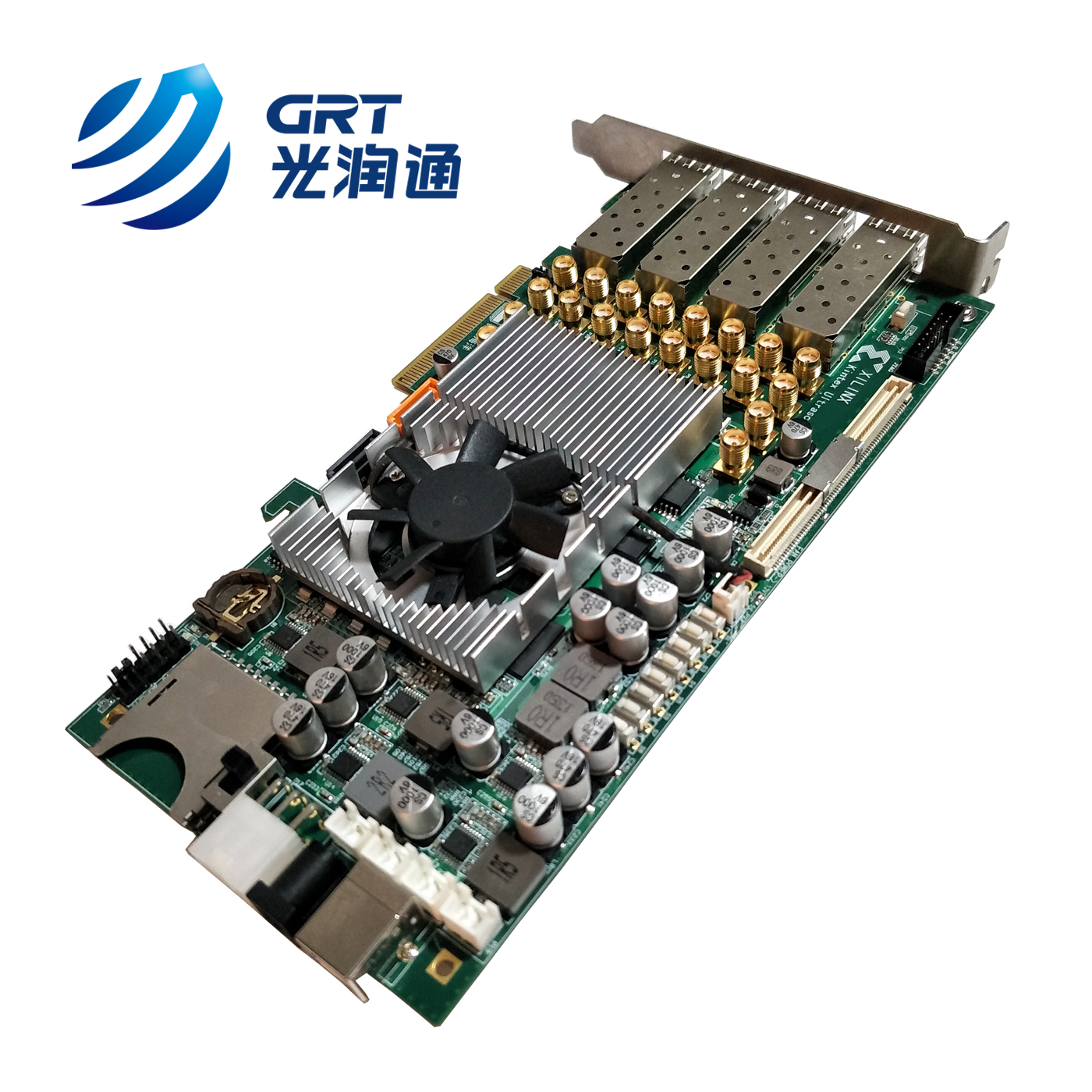 10Gb SFP+ fpga ddr4 2Gb xilinx board FPGA Development Board