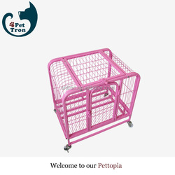 Oem custom hot sell cheapest foldable metal cage dog crate