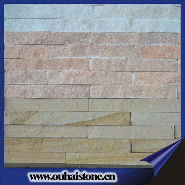 Pure natural slate series quartz tiles cultured stone wall panels