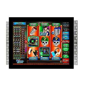 "Open Frame Industrial Touch Monitor 19"" Inch LCD WMS POG Gaming Monitor WIth Metal Shell"