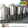 Steam jacket home beer brewing brew kettle / 250 gallon conical fermenter