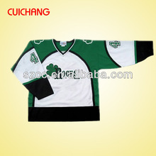 2016 High quality custom made reversible sublimation ice hockey jerseys