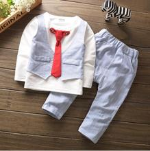 cy30126a new designer boys gentleman clothing set children cotton suits kids fancy clothes