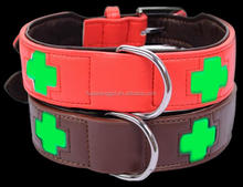 Fluorescence hunting dog collar for large pet
