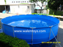 Giant outdoor pvc swimming pool/pvc family swimming pool