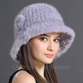 CX-C-71C Hot Selling Real Rabbit Fur Pattern Russian Fur Hat