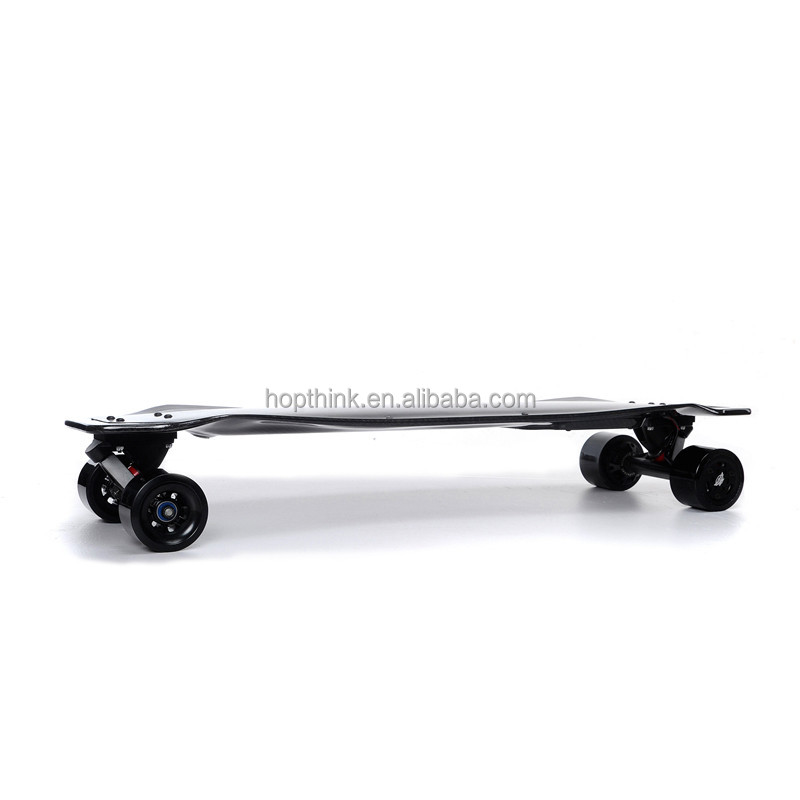 New Electric Long Board Boosted Skateboard 300W*2 4 Wheel Electric carbon fiber Skateboard with Remote