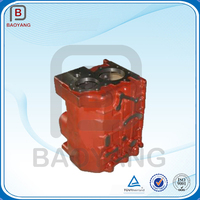 China manufacturer sand casting painting gearbox cast iron foundry