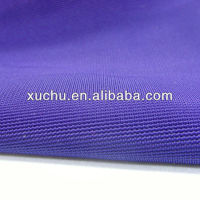 For dress dyed knit fabric 100% polyester ottoman