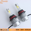 All in One Luces led para autos focos C6K 36W 4000LM