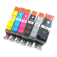 PGI-725 CLI-726 Refilled ink cartridge with chips for Canon PIXMA MG8170