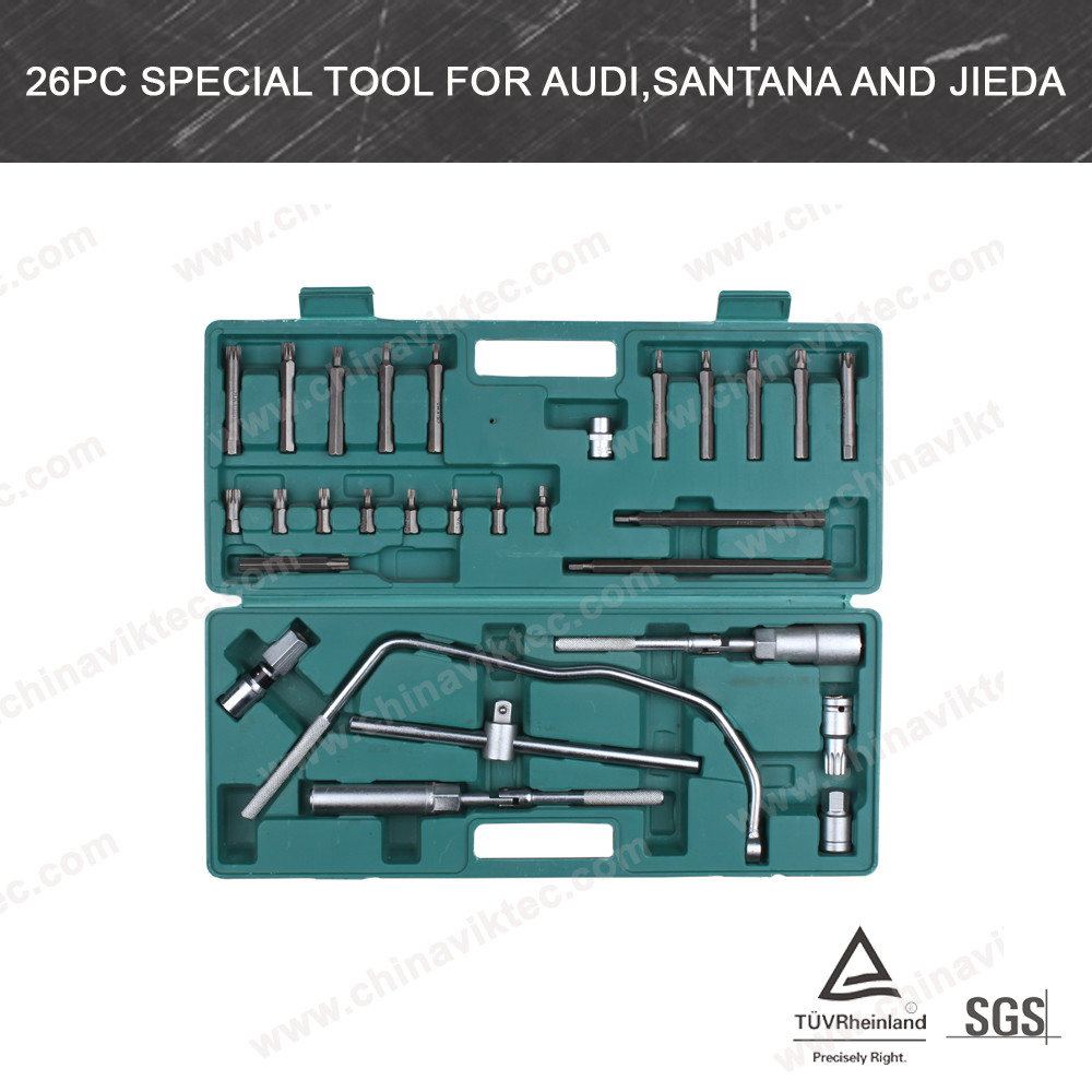 26pc Special Tool For Audi,Santana And Jieda(VT01070)