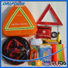 OP manufacture FDA CE ISO approved wholesale fluorescence outdoor car accident first aid kit