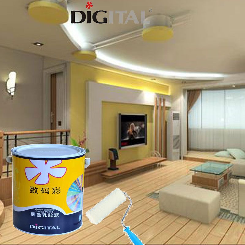 Matt Light colored latex paint for interior wall washable interior wall paint