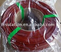 Silicone Rubber Fiberglass Sleeving - FRS
