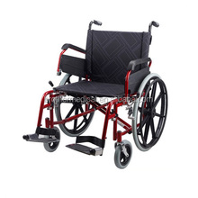 Wide wheels handicapped wheelchair