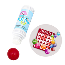 Bingo ink markers,new design colorful painting dot markers attractive box packing CH-2828