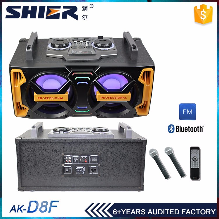 Small conference pa system indoor wireless sound mixer speaker