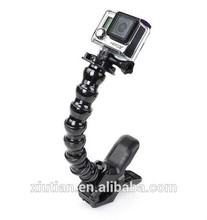 2015 hot-selling factory price for gopros jaws flex clamp mount for gopros Hero3+ /3/2 Accessories