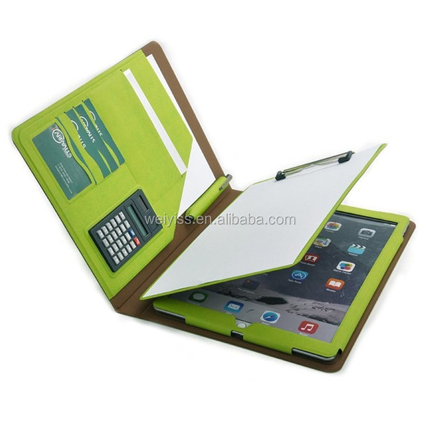 New Designer Organizer Portfolio Case with Writing Pad and Mini Calculator
