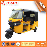 2016 New Technologie Bajaji Style 5 Tuktuk Three Wheel Motorcycle For Passenger