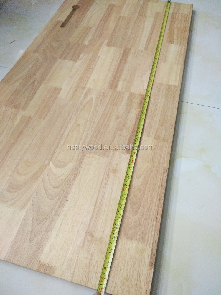 1220*600mm rubber wood finger joint splicing board 24mm for desk top