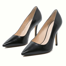 2018 Latest Design Cheap Price Wholesale stilettos Black Women Shoes Ladies 9cm High Heels