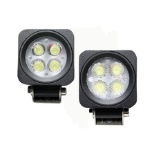 2x2 4x4 car accessories 12V 2.5inch Mini Square 12W work light , small bike led driving light 4x3W Motorcycle led headlight
