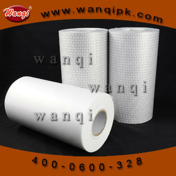 Raw material pressure sensitive seal liner roll