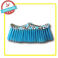SY3654 Plastic printing broom without wooden handle or steel stick