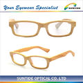 Bamboo glasses optical frame bamboo eyewear glasses 2014 (WM04)