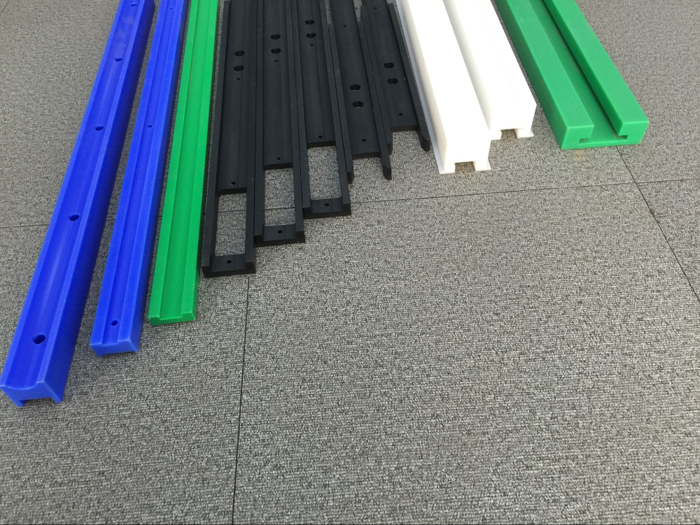 Pultrusion extrusion process uhmwpe ceramic weld backing strip