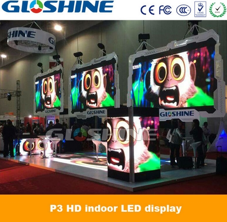 P3 indoor full color stage background video wall led display