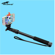 mobile phone selfie holder,self portrait stick KAMAY monopod colorful monopods for case for lenovo a208t