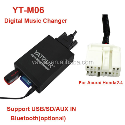 Yatour car stereo Digital MP3 Player for Honda Accord CRV Odyssey Pilot Acura etc.
