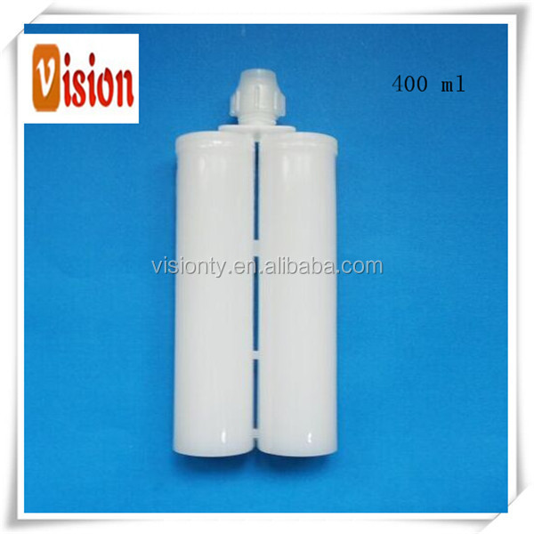 Factory directly sale 400ml 1:1 empty silicone sealant resin dual cartridge