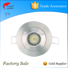 IP20 12V MR11 stainless steel morden led ceiling down mount light