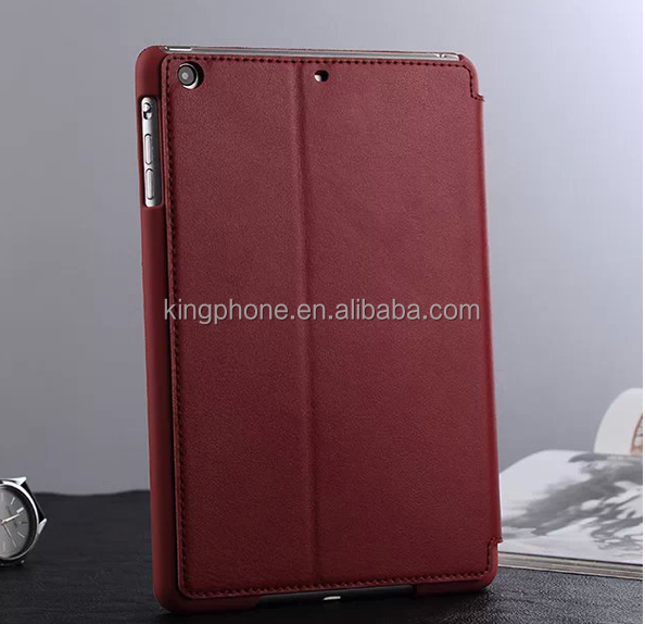 hot selling high quality genuine leather case for ipad mini 3