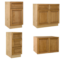 Flat Pack USA Wooden Modular Kitchen Cupboard Designs Direct From China