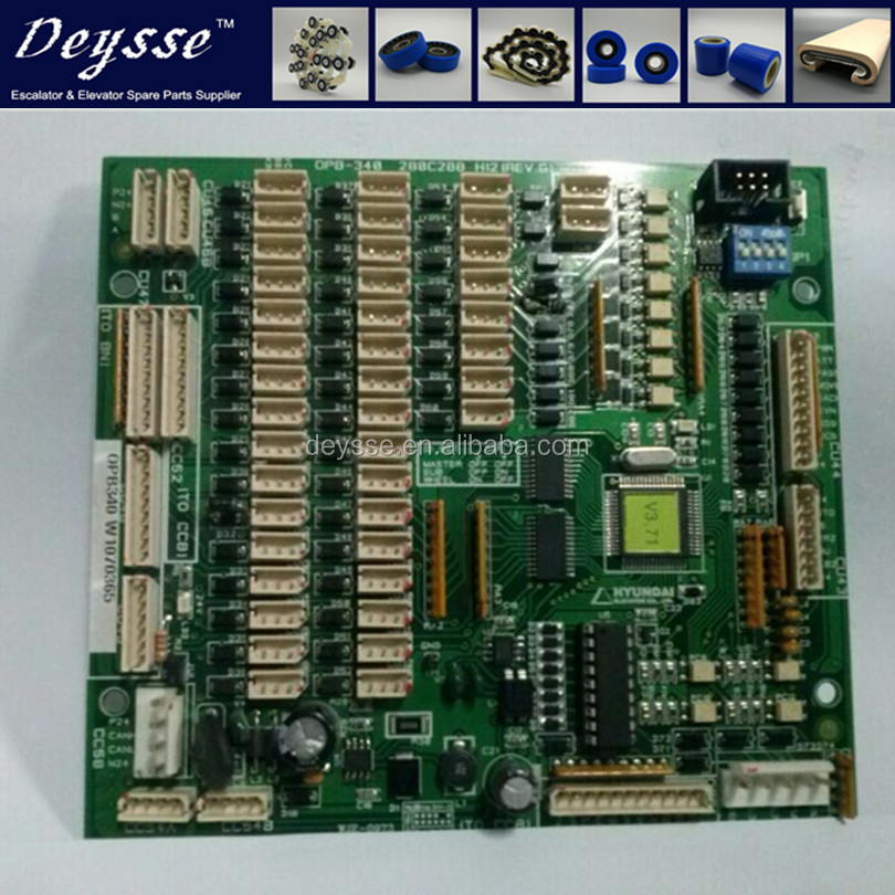 PC Board OPB-340 PCB For HYUNDAI Elevator parts