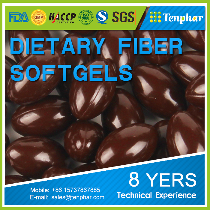 Natural Dietary Fiber EssenceOEM 500mg Softgels