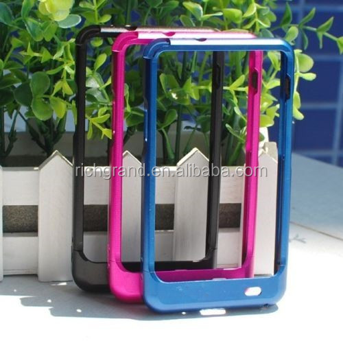 Metal aluminum hard case bumper cover for Samsung galaxy S2 i9100