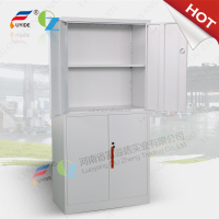 White color quick assebmly metal furniture steel cupboard used for sale