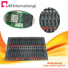 2013hotselling! ATC bulk sms modem pool 32 with Q24plus suport sms,mms,EDGE and TCP/IP.850/900/1800/1900MHZ